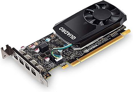 HP NVIDIA Quadro P620 2GB GDDR5 - Tarjeta gráfica (Quadro P620, 2 GB, GDDR5, 128 bit, 5120 x 2880 Pixeles, PCI Express x16 3.0)