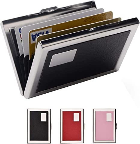 STAINLESS STEEL VISITING CARD//DEBIT//CREDIT CARD HOLDER WITH GLOSS FINISH