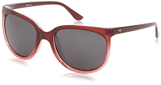 Sunoptic Damen Sonnenbrille Gr. One size, Rot - Red (Burgundy)