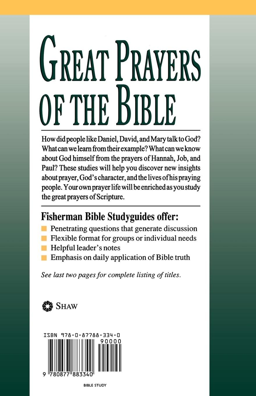 Great Prayers of the Bible: 12 Studies for Individuals or