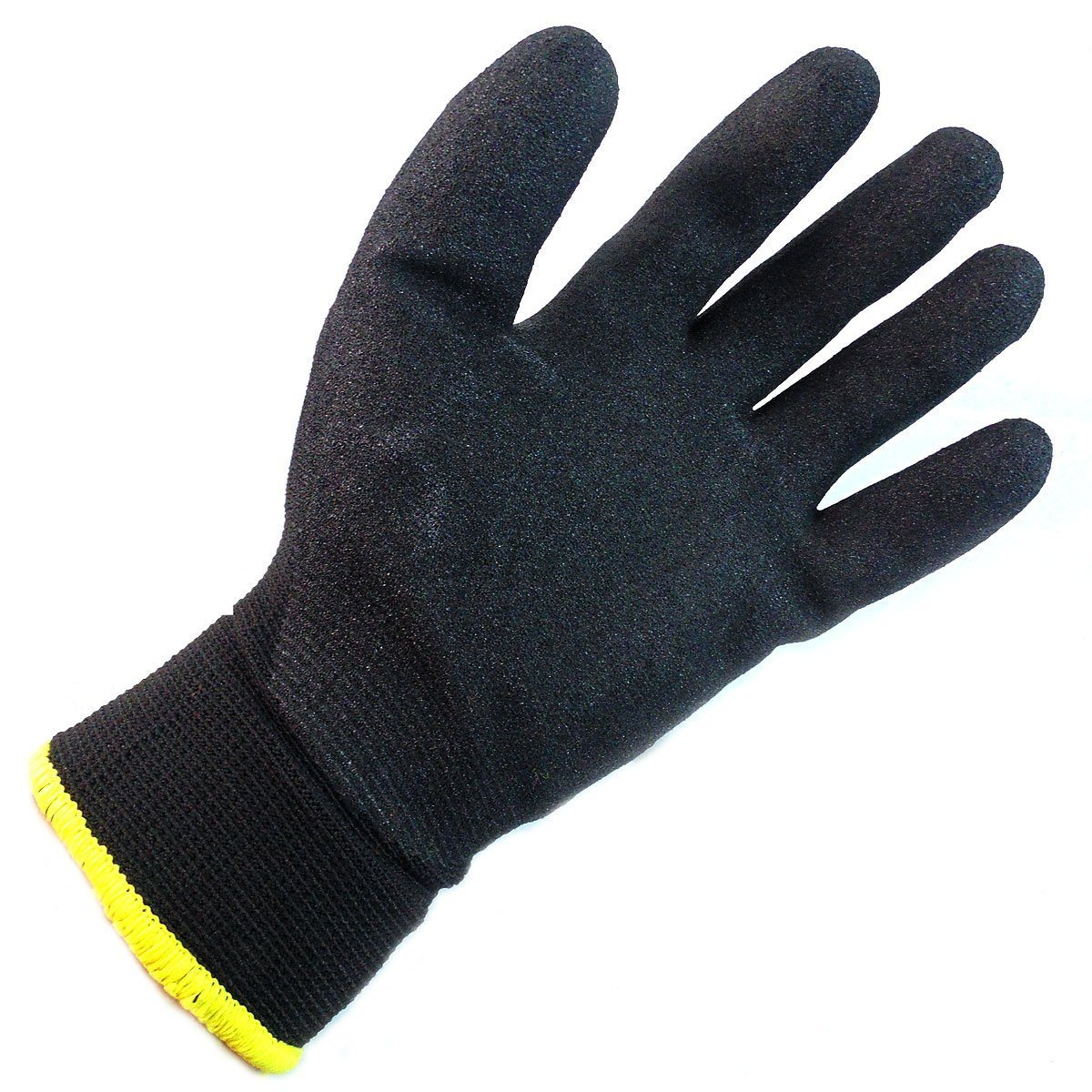 Better Grip BGWANS Safety Winter Insulated Double Lining Rubber Coated Work Gloves 3 Pairs//Pack Extra Large, Military Brown