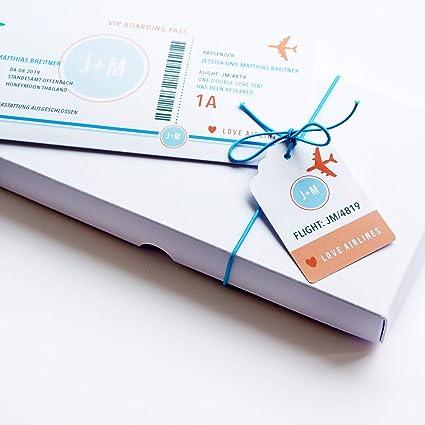 Set de regalo con caja, tarjeta de felicitación personalizada (con ...