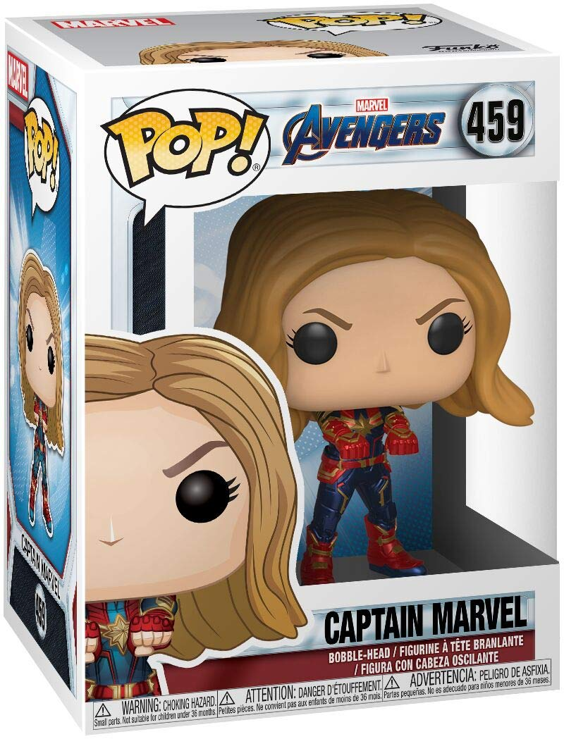 Amazon.com: Funko Pop. Marvel: Avengers Endgame - Capitán ...
