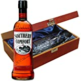 Southern Comfort In Luxury Box avec Royal Scot High Ball Glass
