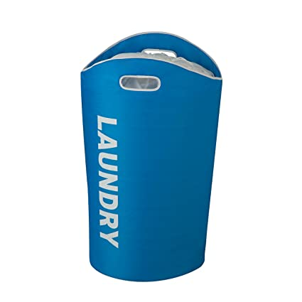 Honey-Can-Do HMP-03544 Laundry Bin Tote with Drawstring and Handles,