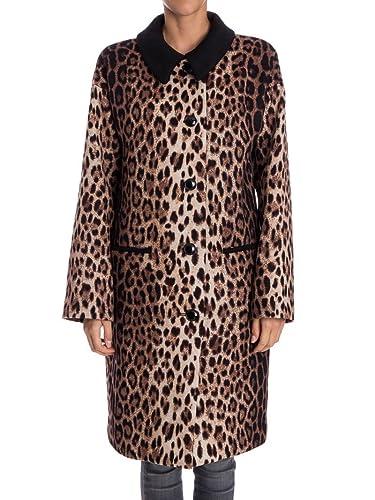 Boutique Moschino Mujer 06036150A1101 Multicolor Lana Abrigo