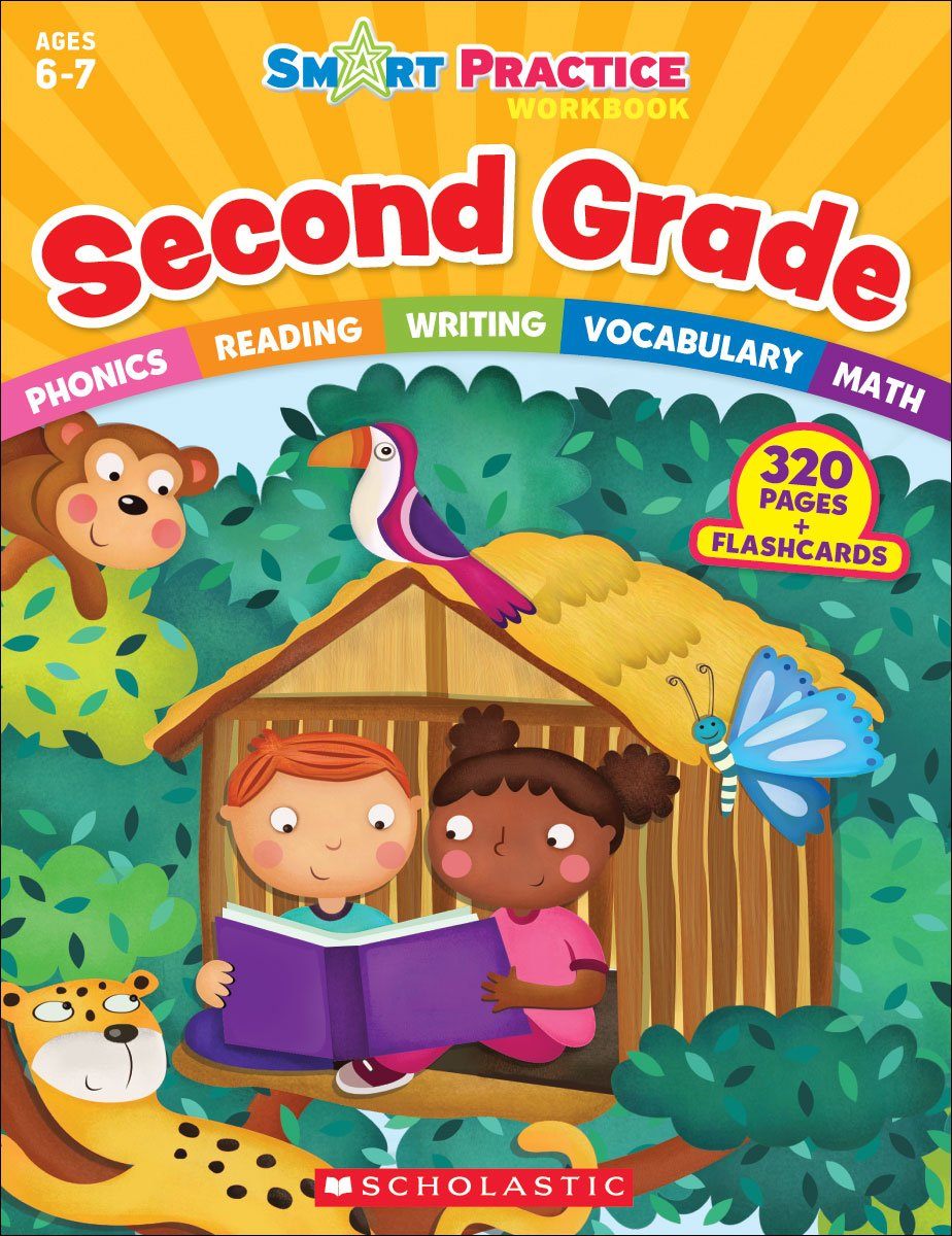 Workbooks big third grade workbook : Smart Practice Workbook: Second Grade: Scholastic Teaching ...