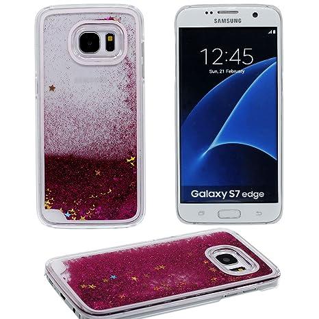 Samsung Galaxy S7 Edge Carcasa, Agua Líquido Estilo Original ...
