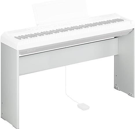 Yamaha L-85WH - Soporte de teclado, color blanco