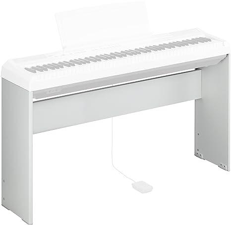 Yamaha L-85 - Soporte para piano eléctrico P85 y P95, blanco