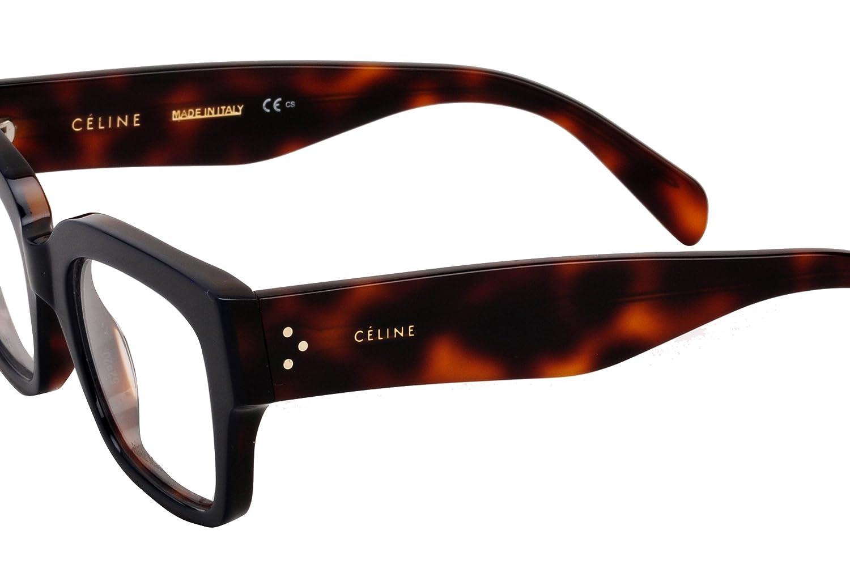 Amazon.com: Celine anteojos de la mujer Marcos cl41352 52 mm ...