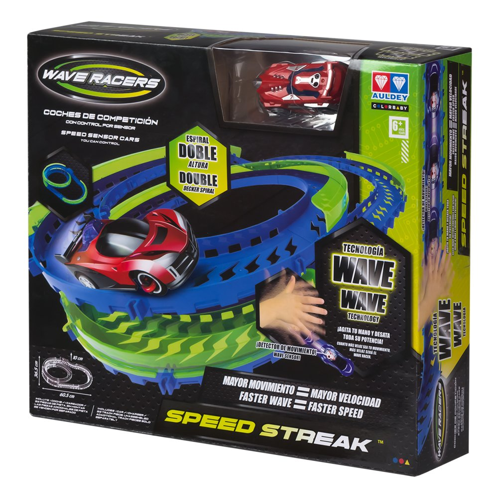 43185 ColorBaby Circuito SPEED STREAK: 2 alturas 1 coche