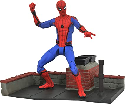 MARVEL SPIDER-MAN far from home Select Action Figure 7 Diamond Select Avengers