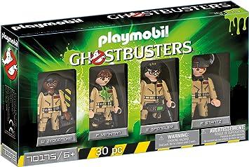 PLAYMOBIL Ghostbusters Set de Figuras Juguete, Multicolor ...