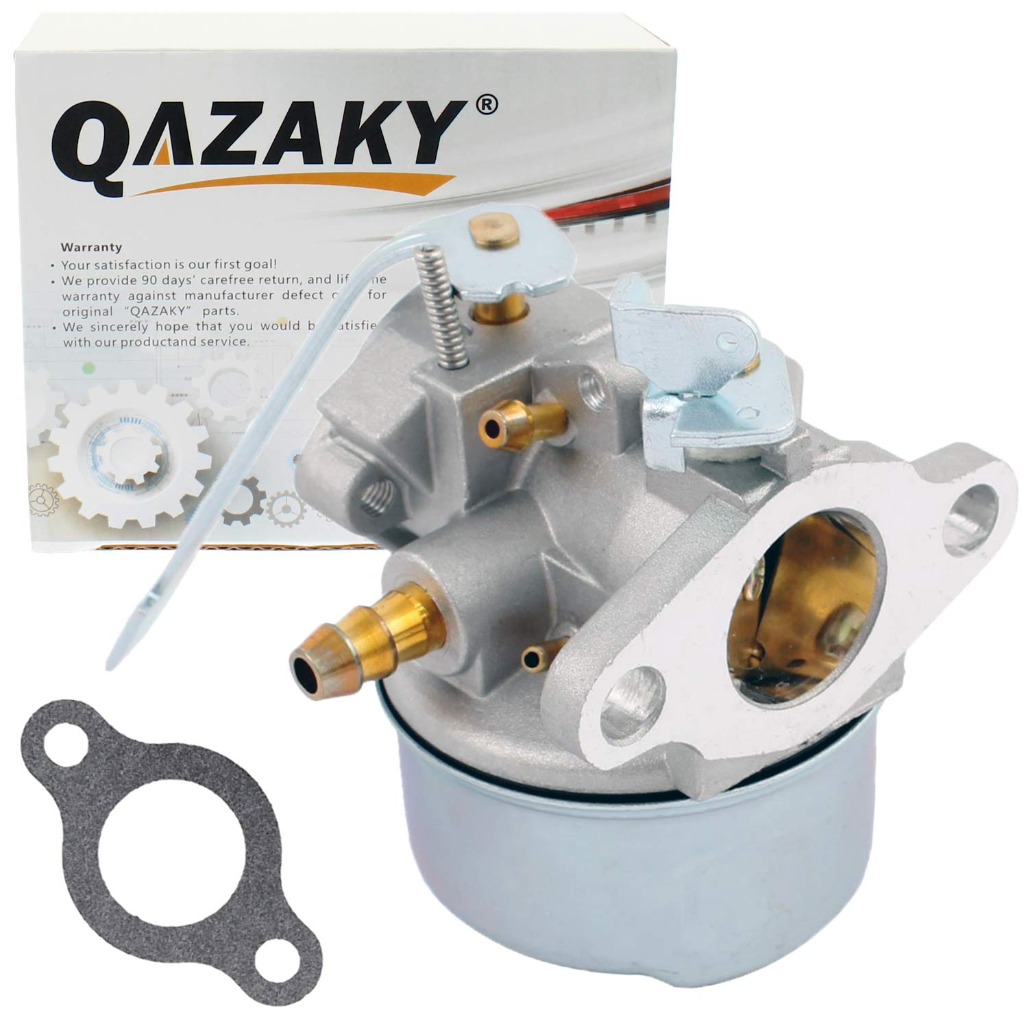 QAZAKY Carburetor Replacement for Tecumseh 632552 632557 632557A 632560 632560A 632641 640086 640086A 640092 640092A 640098 640098A 640311 HSK600 HSK635 TH098SA 3HP 3.25HP 3.5HP 3.75HP Snowblower Carb