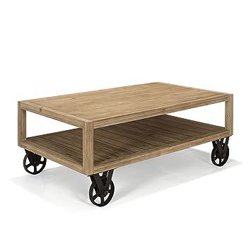 0 Basse 0x70 Cocto Table Industriel 0x46 Naturel Alinea Style 120 wOyNn0vm8