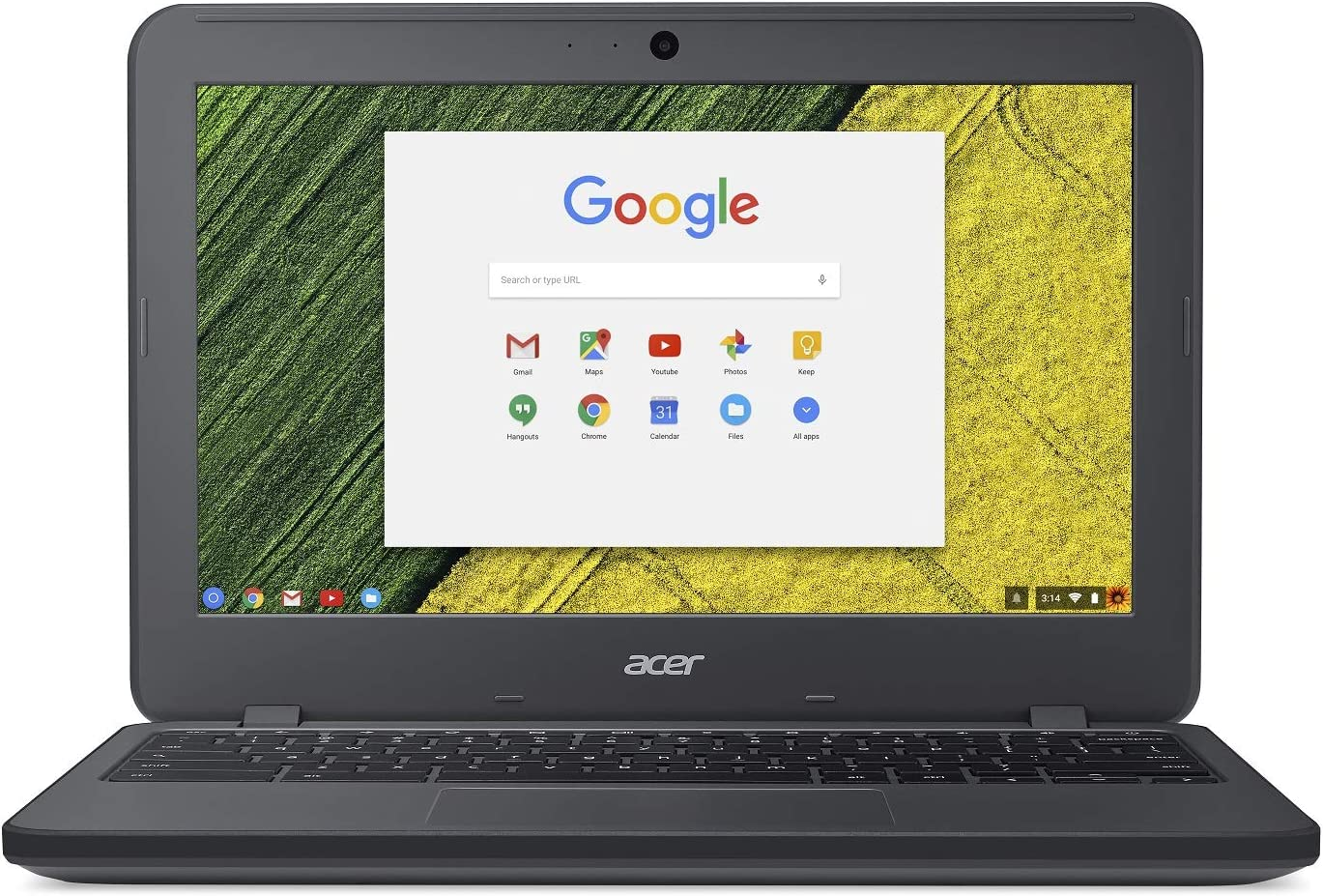 "Acer Chromebook 11 N7, Celeron N3060, 11.6"" HD, 4GB LPDDR3, 32GB eMMC, Google Chrome, C731-C118"