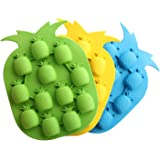 Bar Party Drink Ice Tray Pineapple Shape Ice Cube Freeze Mold Ice Maker Mould...