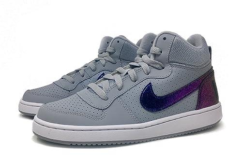 Nike Nikecourt Ragazzo Mid Borough Gs Print Corte Iv7Yy6gfb