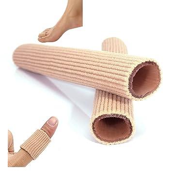5d947ec1622b 2 Stück Soft Exklusiv Silikon Zehenschutz Schlauchbandage Druckschutz Zehen  Schutz feifanshop Weihnachtsgeschenkladen