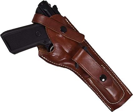"Black RIGHT Hand Belt Clip Gun Holster RUGER MARK II TARGET w// 5-1//2/"" Barrel USA"