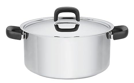 Fiskars Cacerola, Todo tipo de cocinas, 5 litros, Acero ...