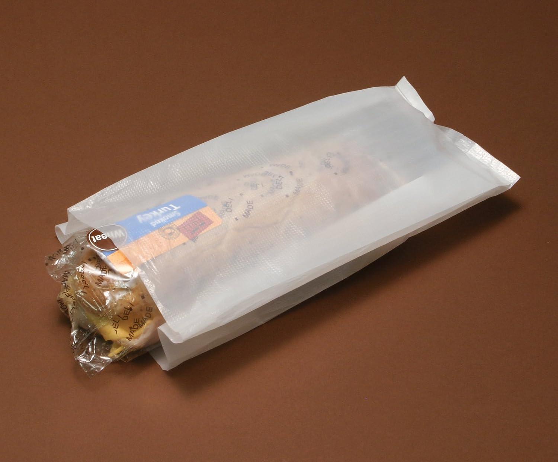 Elkay H-06 0.5 mil Wet Pack Grocery Bag # 6 Pack of 1000 6 x 3 1//2 x 12 6 x 3 1//2 x 12 Elkay Plastics White