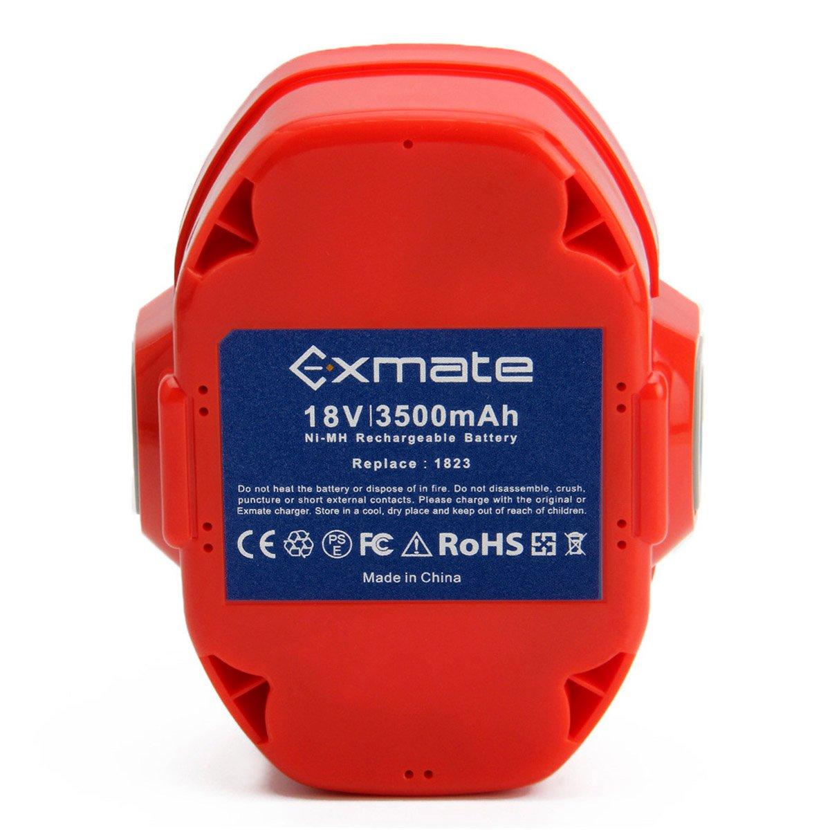 Exmate 12V 3,5Ah Bater/ía para Makita PA12 1220 1222 1233 1200 1234 1235 1235B 1235F 1235A 192696-2 192698-8 192598-2 192681-5 192698-A 193138-9 193157-5
