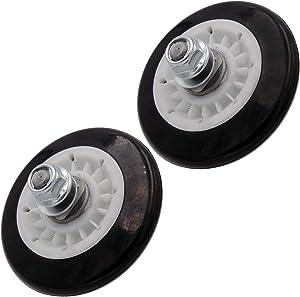 Supplying Demand 4581EL2002A Dryer Drum Roller Compatible With LG Fits 2701044, 4581EL2002B (2 Pack)