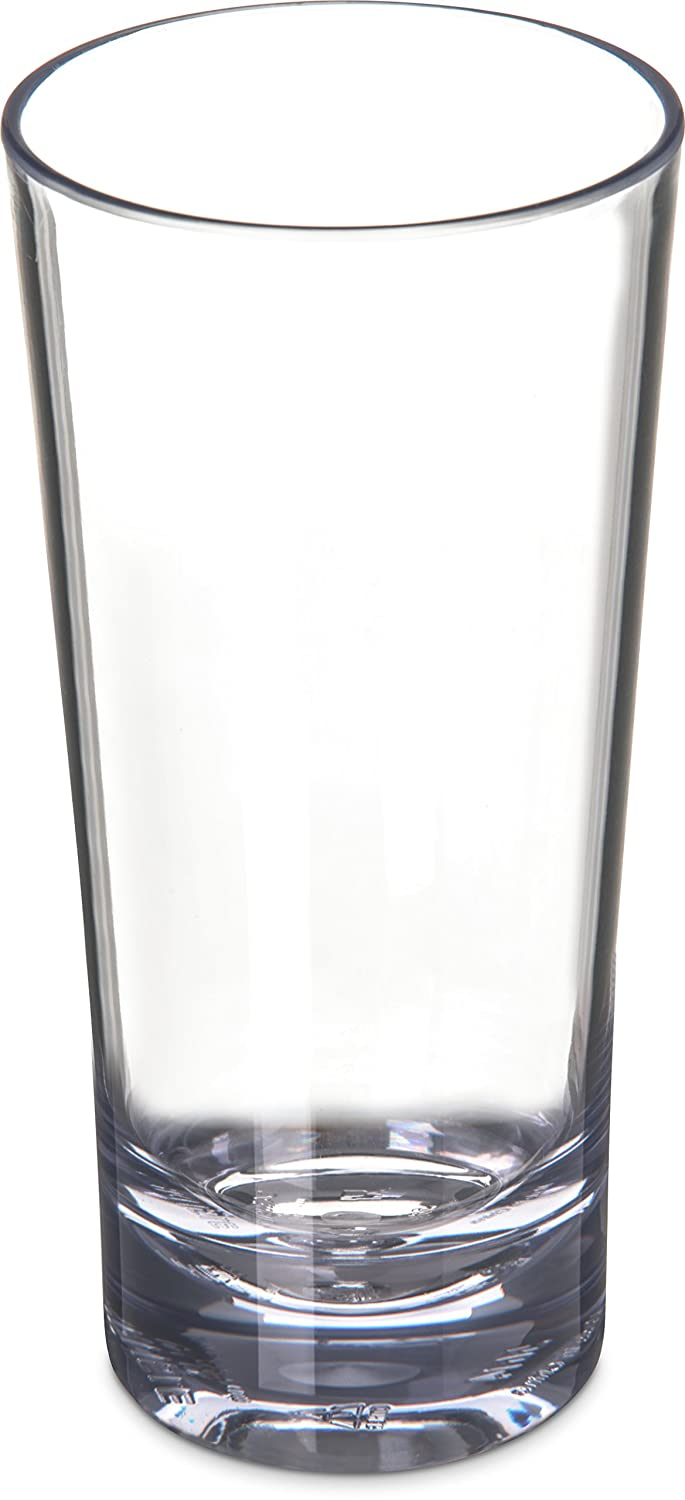 Carlisle 561407 Alibi Heavy-Weight Plastic Beverage Glass, 14 oz