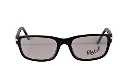 0dfed3e3d5 Image Unavailable. Image not available for. Color  Persol PO2986V Eyeglasses  52-18-140 Black w Demo Clear ...