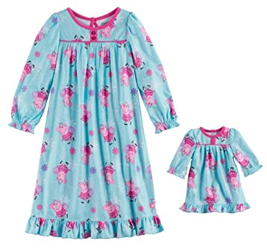 5596eafa0f Image Unavailable. Image not available for. Color  Komar Peppa Pig Little  Girls Toddler Nightgown ...