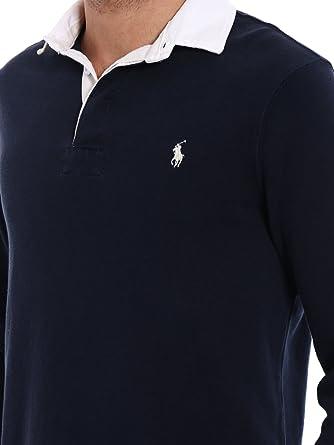 36434910a8f29f Polo Ralph Lauren - Polo - Manches Longues - Homme - Bleu - S ...