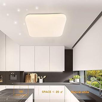 Luz de techo LED Baño Cocina Dormitorio Luces de techo Ducha Sala Comedor Estudio Balcón Pasillo