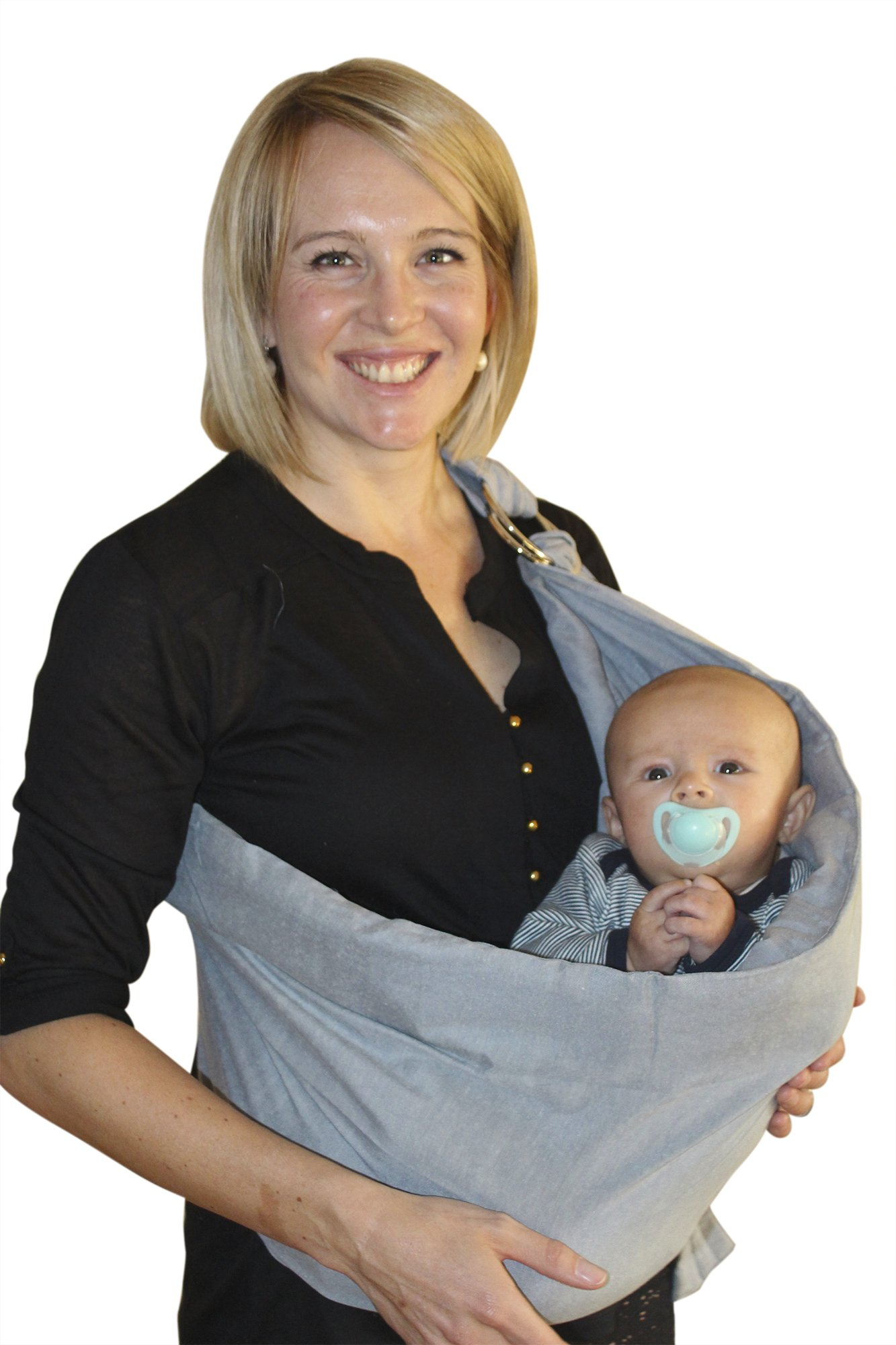OUR BEST BABY SLING WRAP CARRIER for Newborns, Infants, & Toddlers, Ergonomically-Designed Child Carriers, Makes Parent-Child Bonding Time Easier & Extra-Comfortable, The Perfect Baby Shower Gift