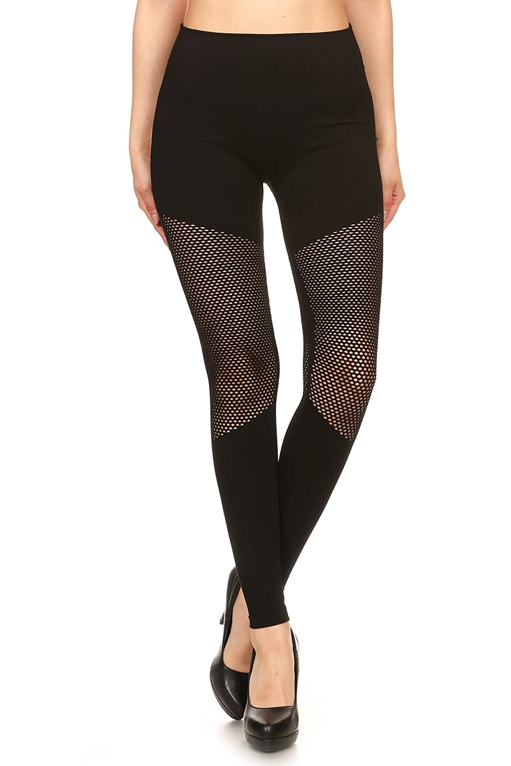 8ae42e6782e1d Solid, High waisted leggings in fit style, with an elastic waistband,  Cutouts Full Length, Perfect for any day to day activity or to Dress them  up for a ...
