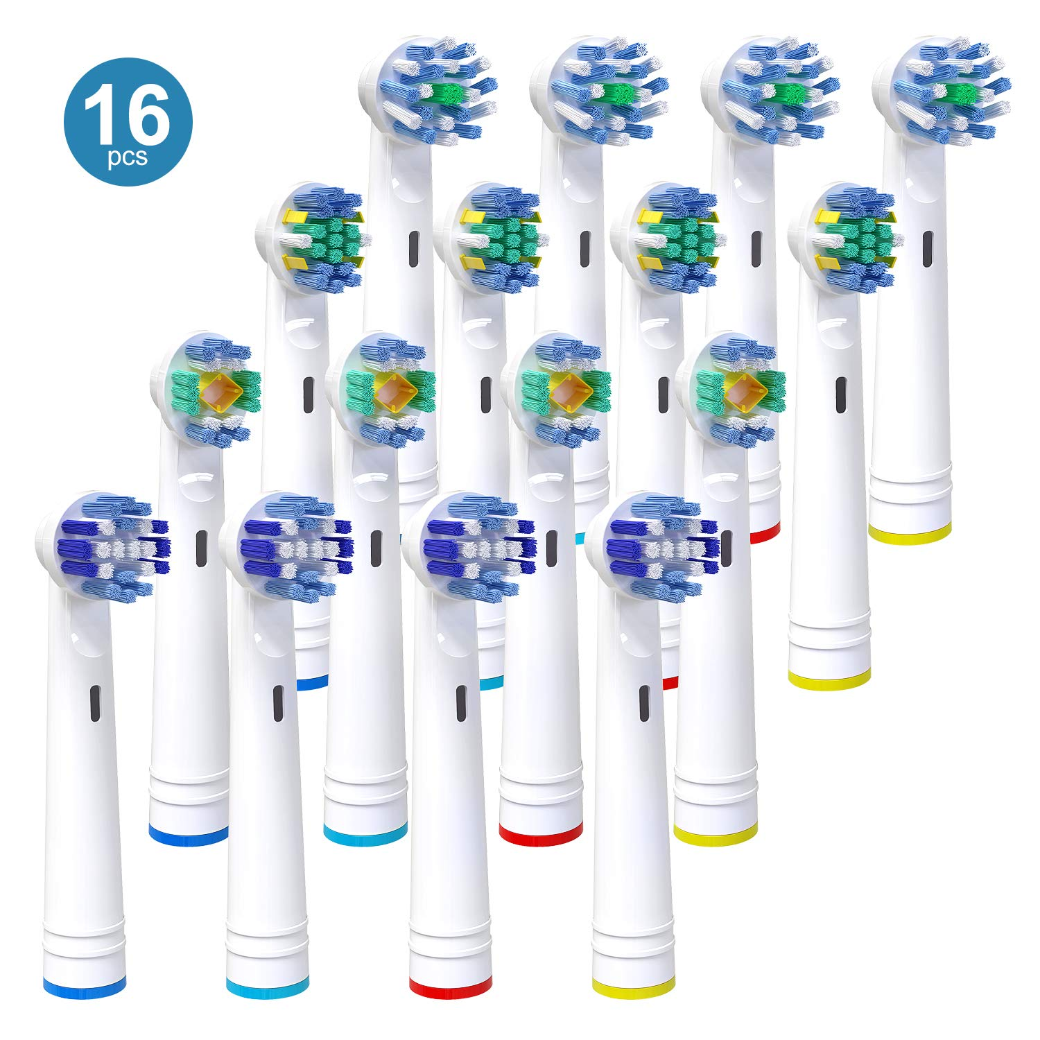 Replacement Toothbrush Heads for Oral B, iTrunk 16 Pack Electric Toothbrush Heads Compatible with Pro...