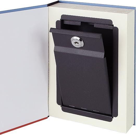 HMF 80935 caja fuerte en forma de libro, caja de caudales ...