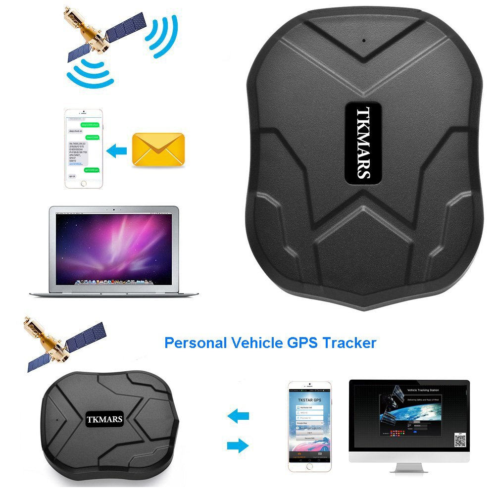 Car Tracker, Hangang Waterproof Strong Magnet GPS Tracker Vehicle Tracker Gps Device App , Realtime New Mini Portable Online Tracking Car Truck Fleet management Motorcycle Vehicle Auto Tracker Device 5000Mah Big Battery GPS Changsha Hangang Technology Ltd