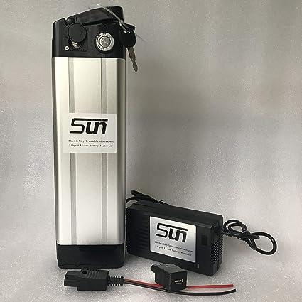 Amazon.com: SUN-EBIKE 48 V 12 AH Li-ion batería de litio ...