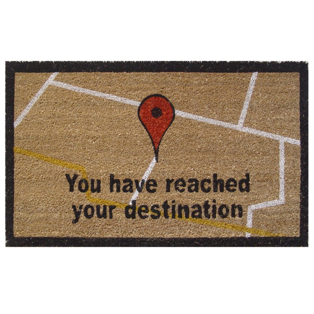 'Find Me' Door Mat