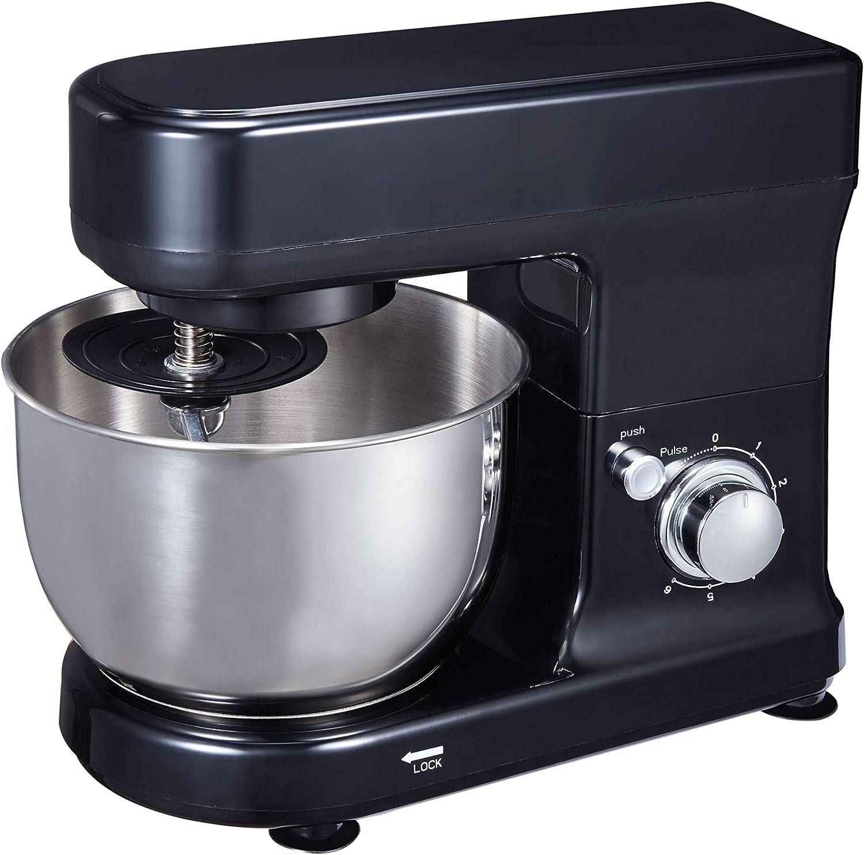 Hozodo Stand Mixer,Kneading Machine,Professional Kitchen Electric Mixer 300W(Black)