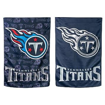"""【クリックで詳細表示】<title>Amazon.co.jp: NFL両面垂直フラグサイズ: 43 """" H x 29インチW、NFLチームTennessee Titans: スポーツ&アウトドア</title>"""