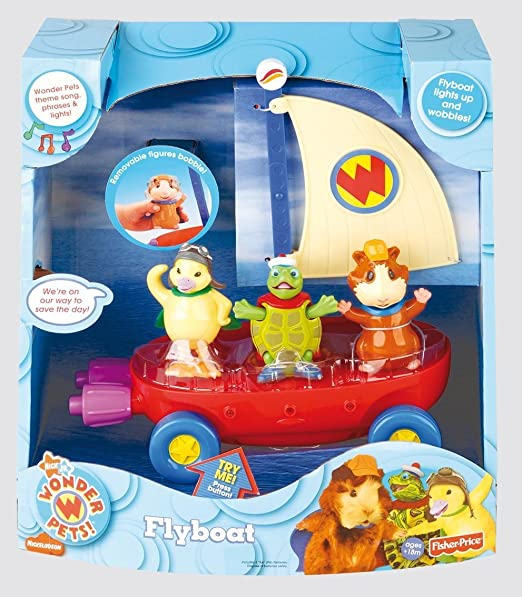 Amazon Com Fisher Price Wonder Pets Fly Boat Toys Games