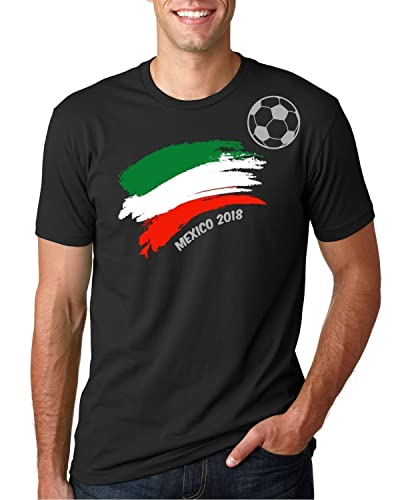 T-shirt For Men Copa Mundial 2018 Mexico Football Soccer