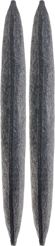 Brandsseller Coussin dassise en feutre rond /Ø coussin de chaise bordeaux 2er-Vorteilspack