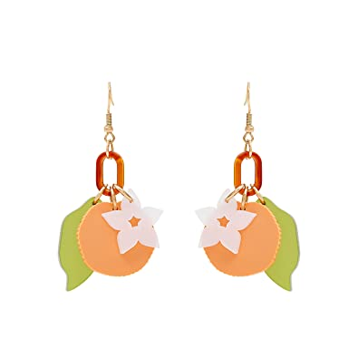 Tatty Devine Women Multicolour Dangle and Drop Earrings SCS18-OGE-E1 cphPH3IG