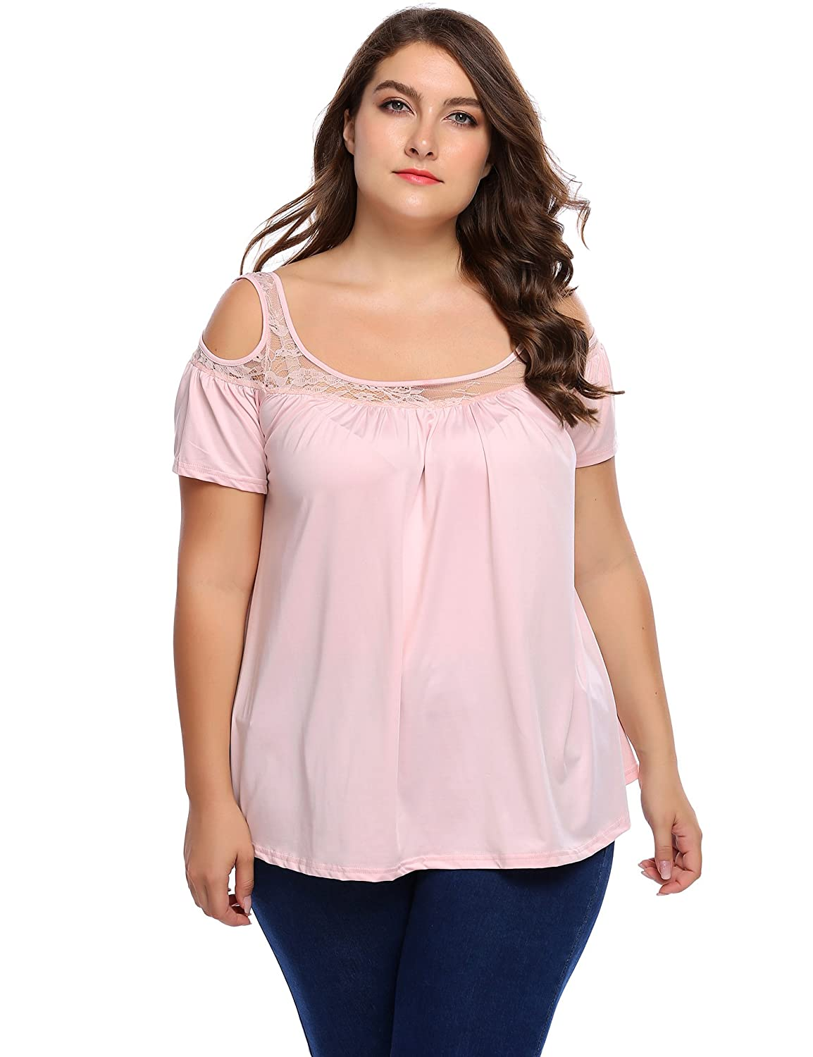 9fe82d678cc3c1 SOPER COMEY- This plus size pullover/tops was made of lightweight and skin  friendly fabric, and the plus size shirts is built for your great wearing  ...