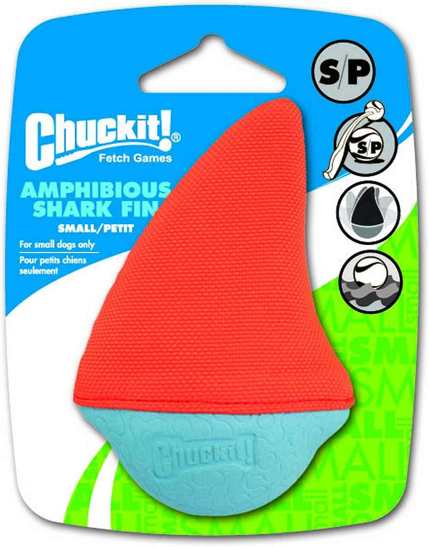 Chuckit! Amphibious Shark Fin Pelota Flotante para Perros ...