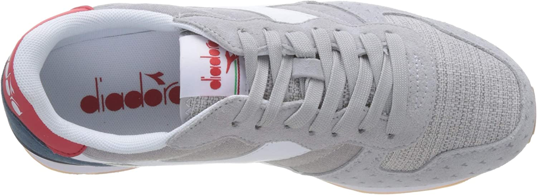 Diadora Camaro Summer, Baskets Homme Bianco Bianco Blu Denim Scuro C5161